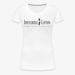 Immeasurable Cloting - Women's Premium T-Shirt