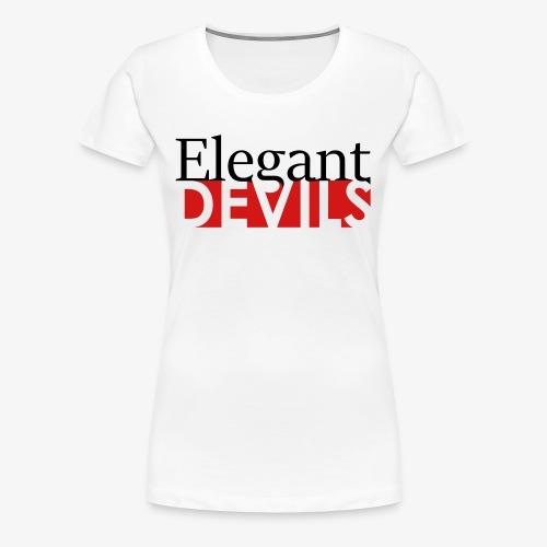Logo Black / Pink - Women's Premium T-Shirt