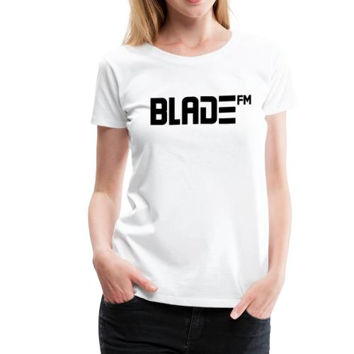 Black BladeFM Logo - Women's Premium T-Shirt