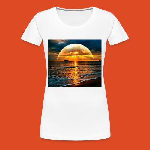 sunrise of the gamers - Women's Premium T-Shirt