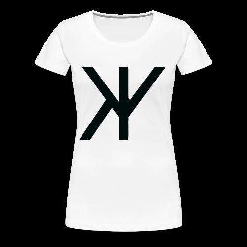 Classic Logo [Black Variant] - Women's Premium T-Shirt