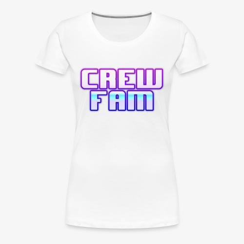 THE CREW FAM MERCHANDISE - Women's Premium T-Shirt