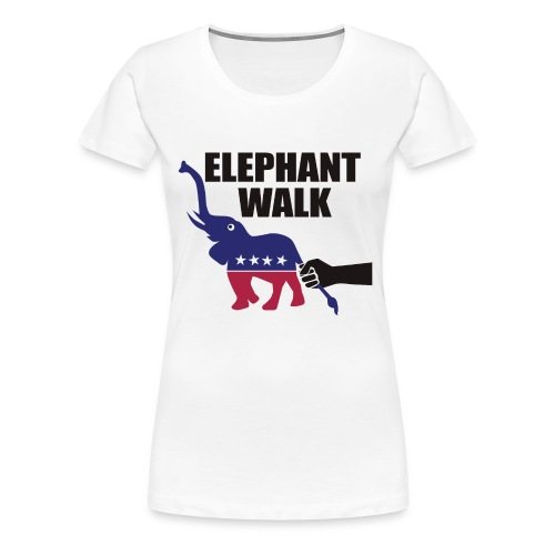 Elephant Walk - Women's Premium T-Shirt
