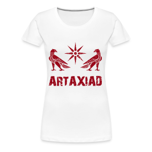 Artaxiad Coat of Arms - Red - Women's Premium T-Shirt