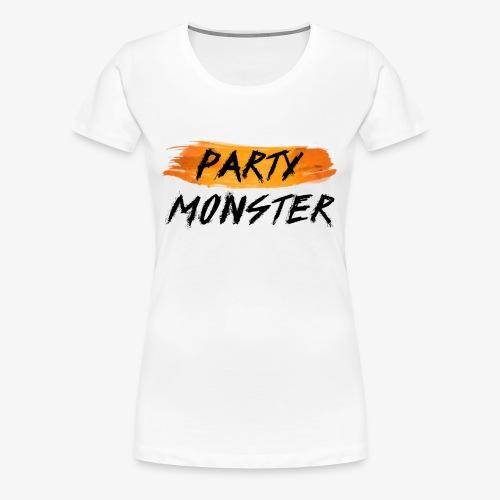 Party Monster Simple - Women's Premium T-Shirt