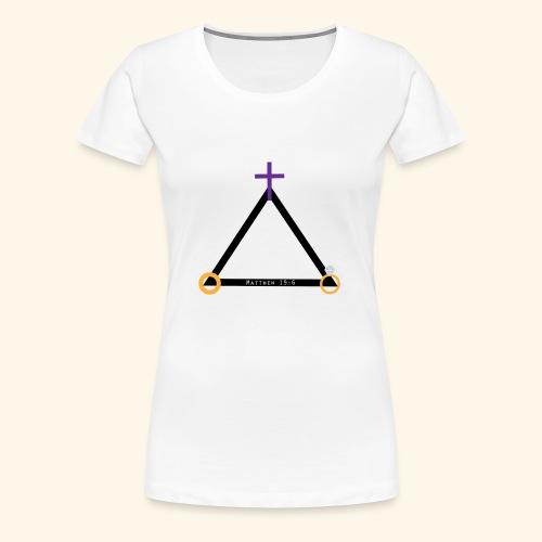 Matthew 19:6 - Women's Premium T-Shirt