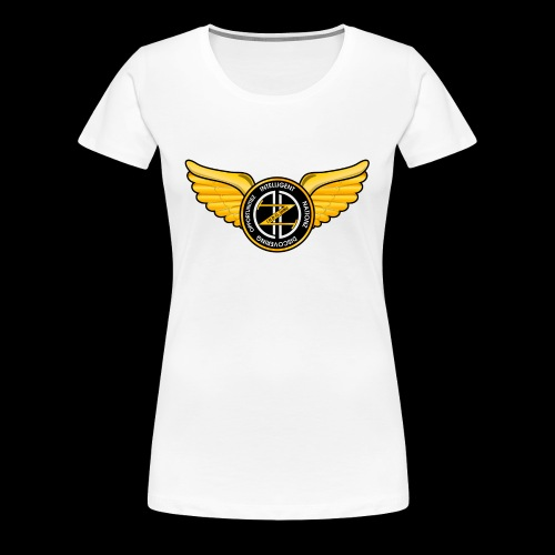 Winged Out Black/Yellow - Women's Premium T-Shirt