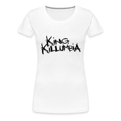 King Killumbia Black Logo - Women's Premium T-Shirt