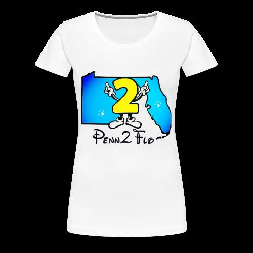 Penn2Flo - Women's Premium T-Shirt