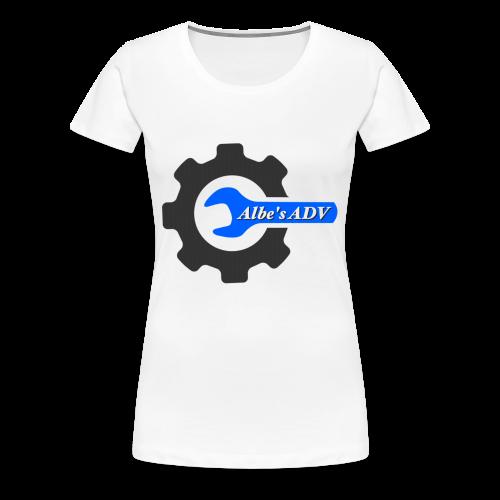 AlbesADV cog - Women's Premium T-Shirt
