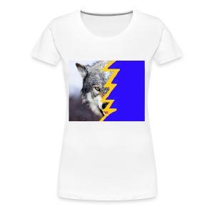 wolf 2 - Women's Premium T-Shirt