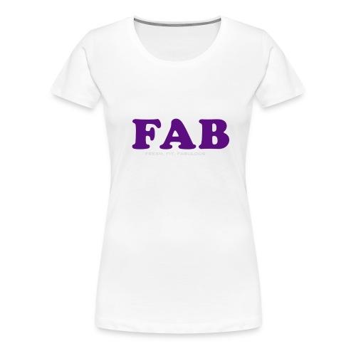 FAB Tank - Women's Premium T-Shirt