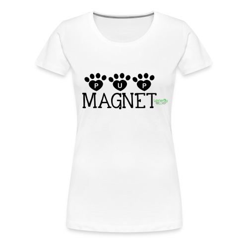 pupmagnet - Women's Premium T-Shirt