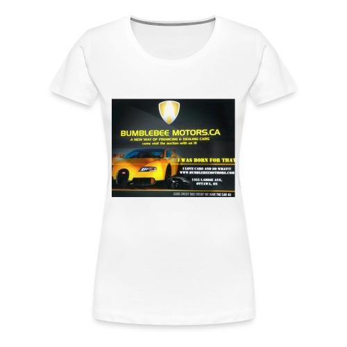 BUMBLEBEE MOTORS - Women's Premium T-Shirt
