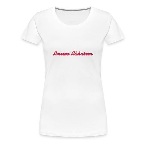 Ameera alshaheen merch - Women's Premium T-Shirt