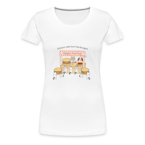 At the market - Women's Premium T-Shirt