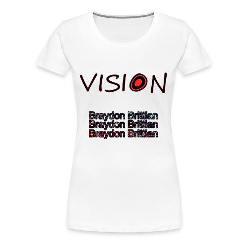 Insane Vision - Women's Premium T-Shirt