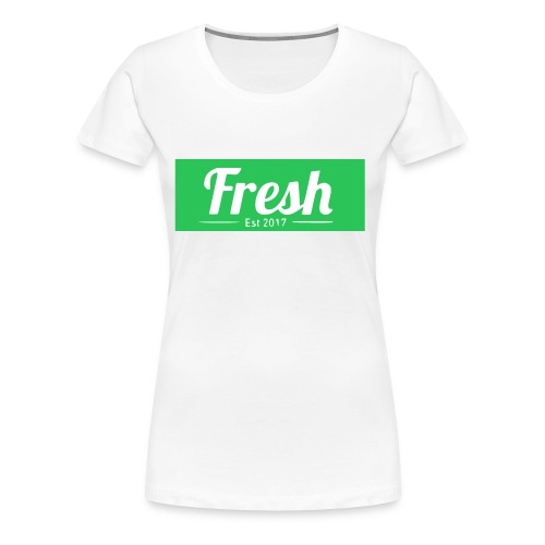 green logo - Women's Premium T-Shirt