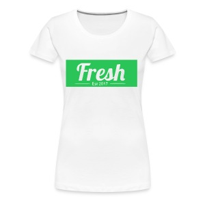 green logo - Women's Premium T-Shirt