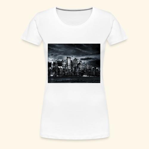 black logo 3 - Women's Premium T-Shirt