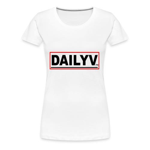 DAILYV.ORG - Women's Premium T-Shirt