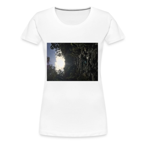 Glowing path - Women's Premium T-Shirt