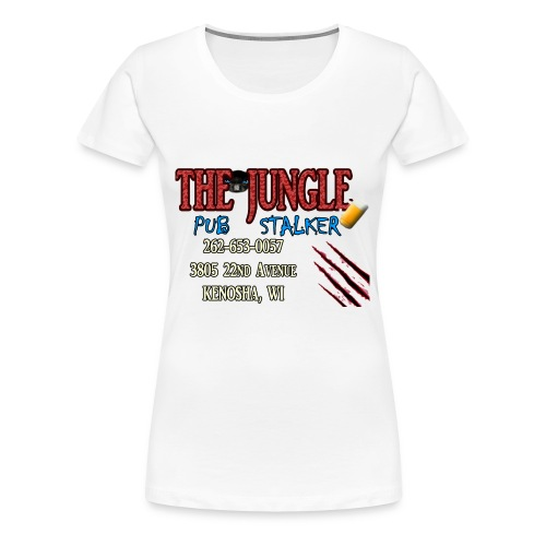 No Bar Jungle Stalker - Women's Premium T-Shirt