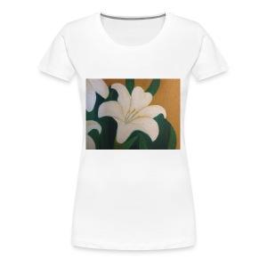 Single Flower - Women's Premium T-Shirt