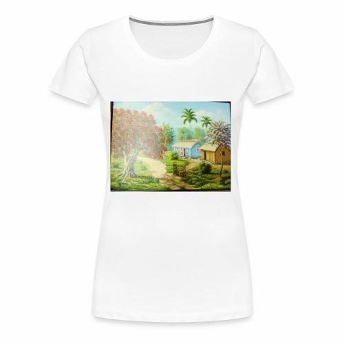 Country Side - Women's Premium T-Shirt