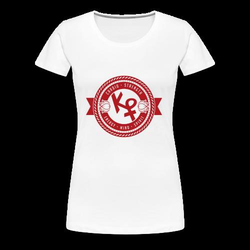 Determination Red2 - Women's Premium T-Shirt