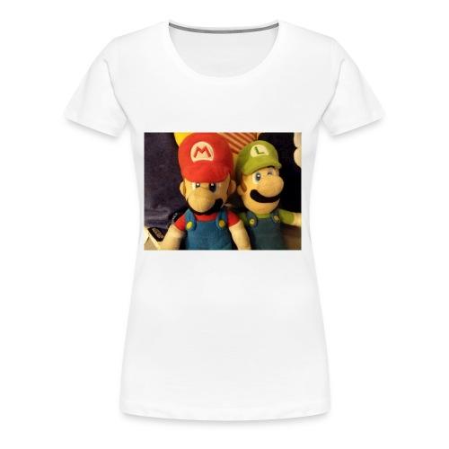 Mario - Women's Premium T-Shirt