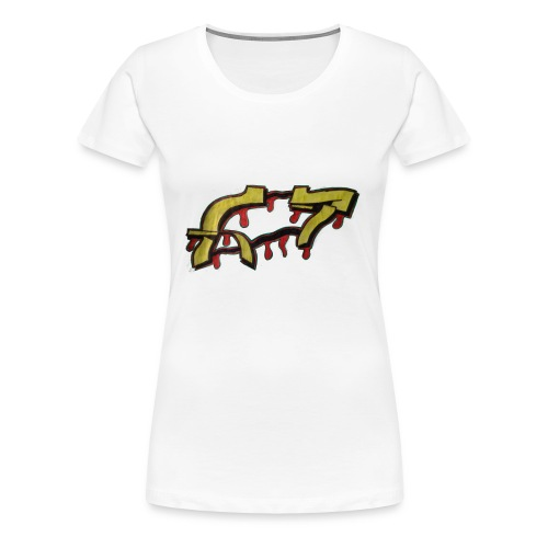 ST graffiti - Women's Premium T-Shirt