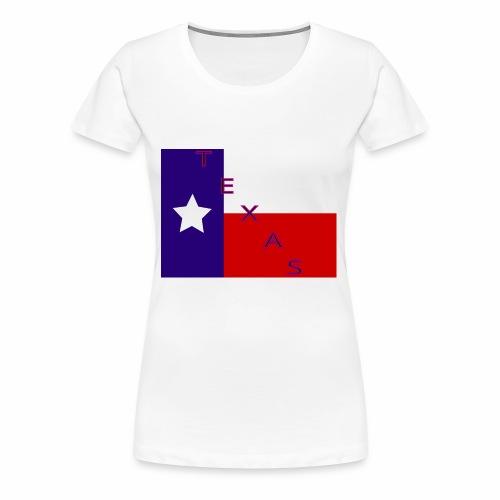 Texas Flag - Women's Premium T-Shirt