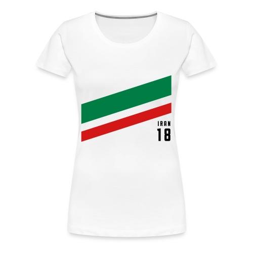 Iran Stipes - Women's Premium T-Shirt
