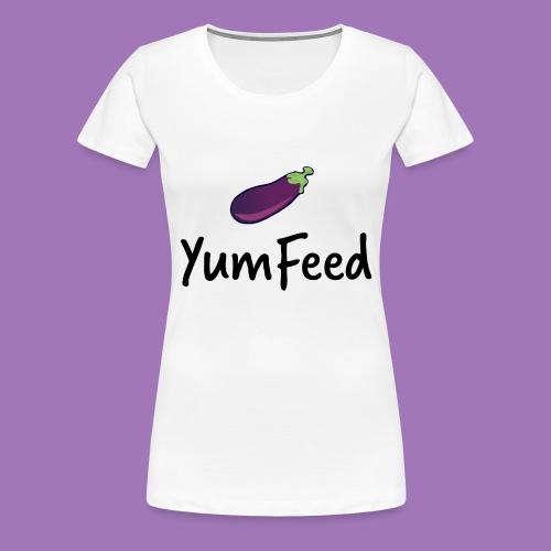YumFeed logo - Women's Premium T-Shirt