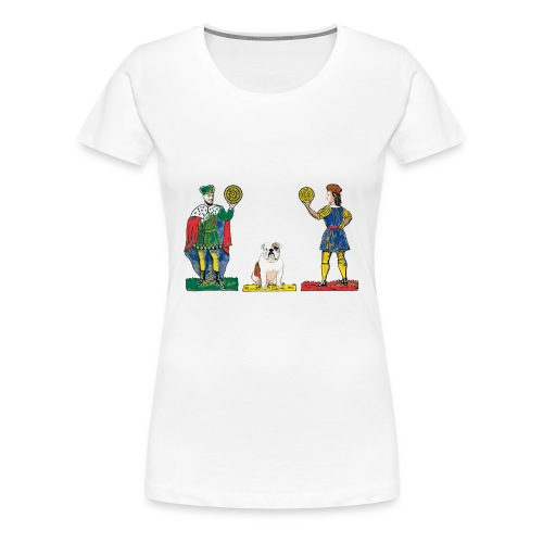 Knave, Horse and King II - Women's Premium T-Shirt