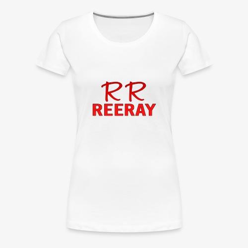 ReeRay YouTube Channel Logo - Women's Premium T-Shirt