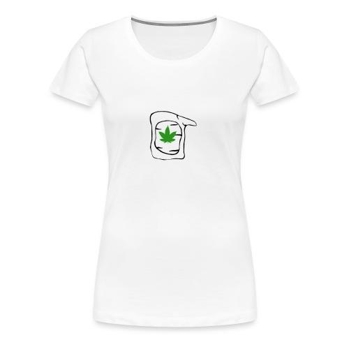 LEAF FACE - Women's Premium T-Shirt
