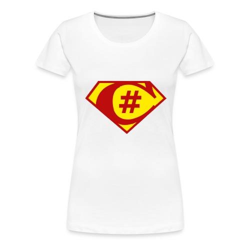 C Sharp Hero Developer - Women's Premium T-Shirt