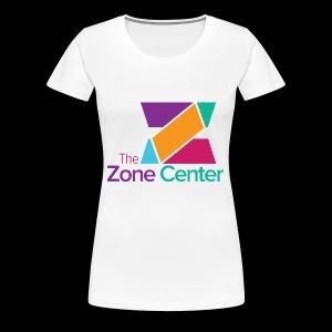 Zone Center T Shirt Logo MultiColor - Women's Premium T-Shirt
