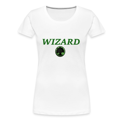 Forest Wizard - Women's Premium T-Shirt