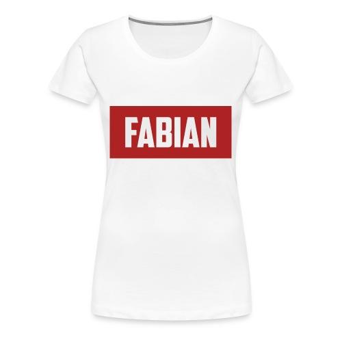 Fabian Logo - Women's Premium T-Shirt