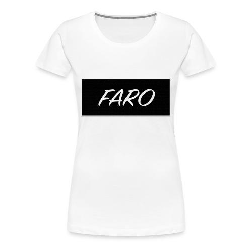 FARO_Logo - Women's Premium T-Shirt