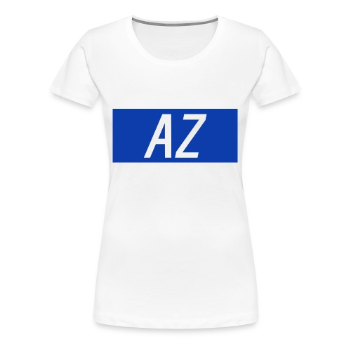 Azshirtlogo - Women's Premium T-Shirt