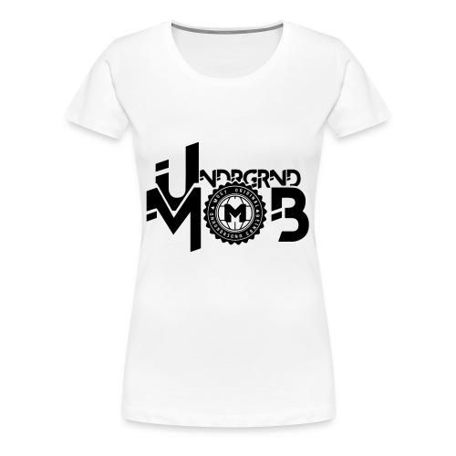 UMOB Black - Women's Premium T-Shirt