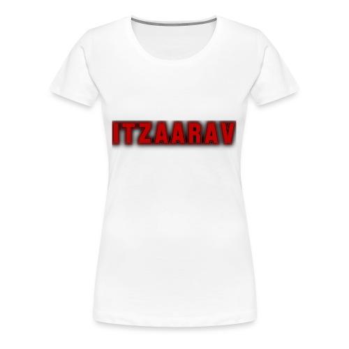 itzaarav - Women's Premium T-Shirt