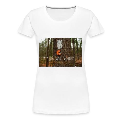 Back In Woods - Women's Premium T-Shirt