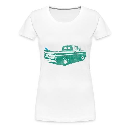 Vintage Surf Truck2 - Women's Premium T-Shirt