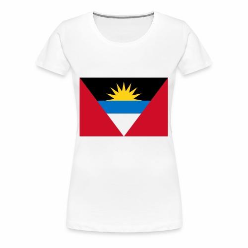 Flag of Antigua and Barbuda - Women's Premium T-Shirt
