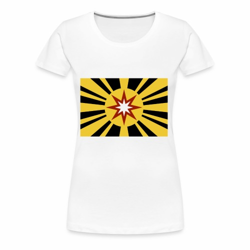 Ad Astra Flag Color - Women's Premium T-Shirt